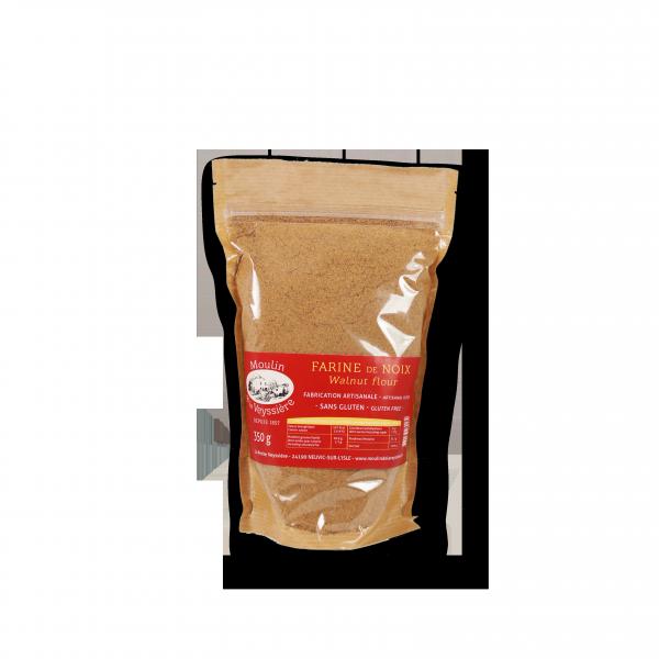 Image Sachet farine de noix fabrication artisanale